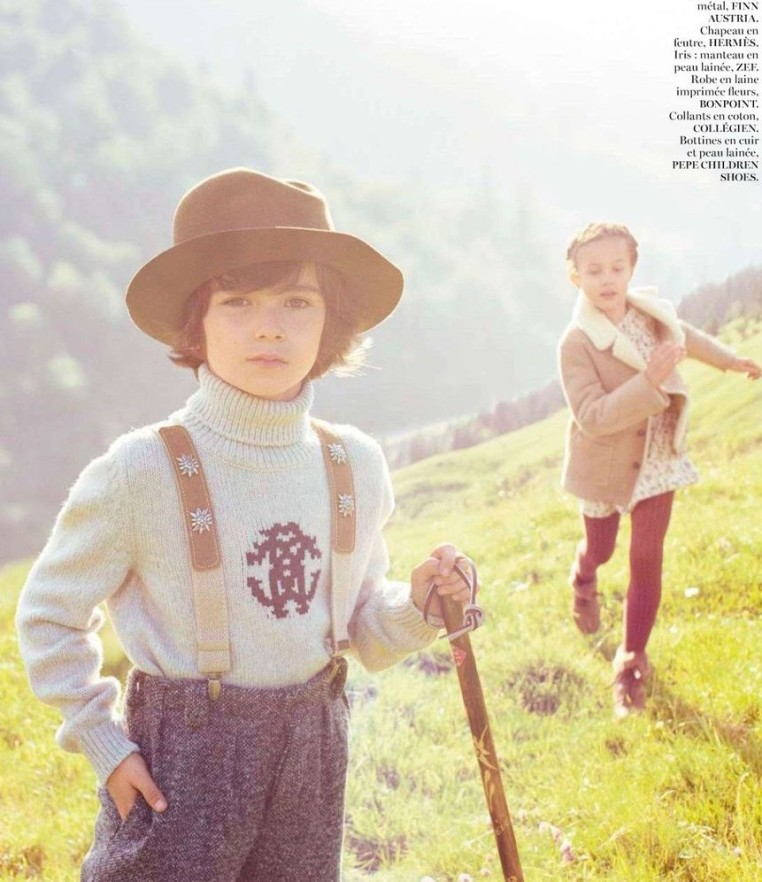 Vogue- Paris, October 2012 (Suplement Enfants)