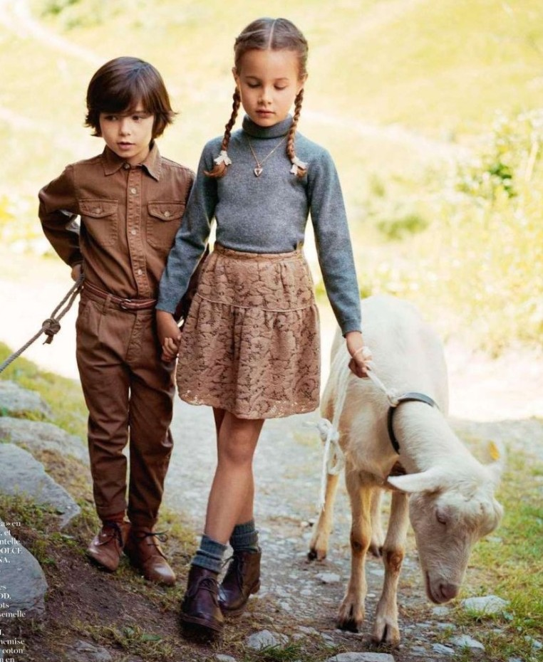 Vogue, Paris, October 2013 (Supplement Enfants)