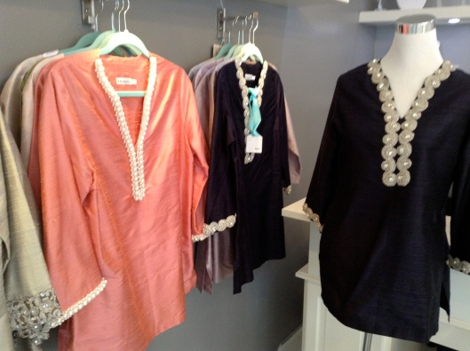Fabulous bejeweled tunics at D.Dream Atelier.